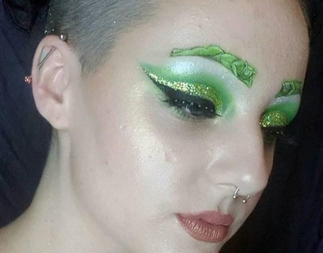 sexy shrek brows