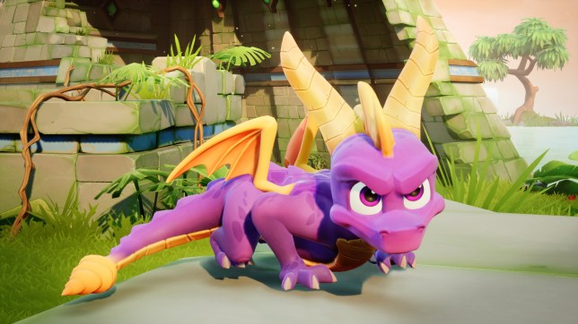 Spyro Reignited Trilogy - the graphics are clearly a major upgrade