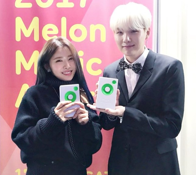 Suran denies dating BTS' Suga, explains Instagram posts