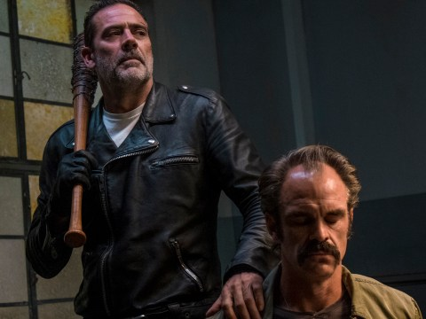 The Walking Dead reveals who Negan picked up in his car in episode 15