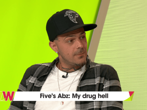 Five's Abz 'paid people to be his friend' during lowest point of drug addiction