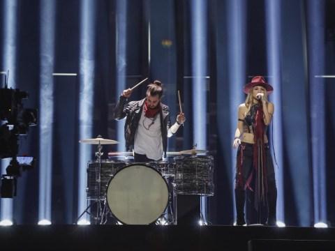 Eurovision Rehearsals: Switzerland drum up support as Zibbz rocks Stones