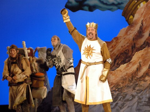 Monty Python musical Spamalot is being made into a film