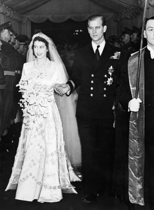Queen Elizabeth Ii Wedding.How Long Have The Queen And Prince Philip Been Married On Their
