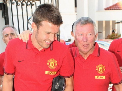 Manchester United captain Michael Carrick pays tribute to Sir Alex Ferguson