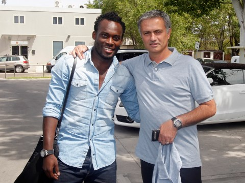 Jose Mourinho says he's Michael Essien's 'white daddy' as Manchester United boss lauds ex-Chelsea star