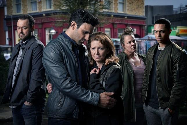 EastEnders death drama