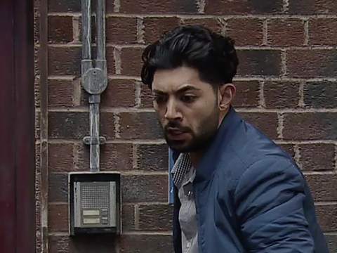 Ex-Corrie actor Qasim Akhtar shows gruesome injury after cheating death in quad bike crash