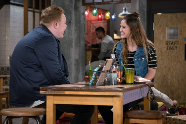 Kayla flirts with Craig in Coronation Street