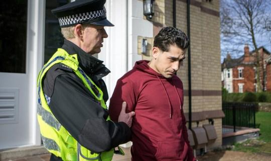 Josh is arrested for rape in Coronation Street