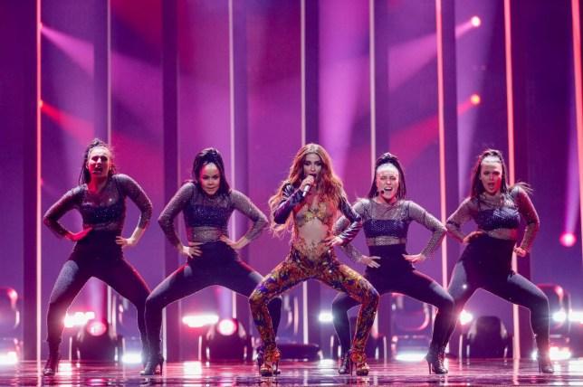 Eleni Foureira Cyprus 2018 Eurovision Song Contest