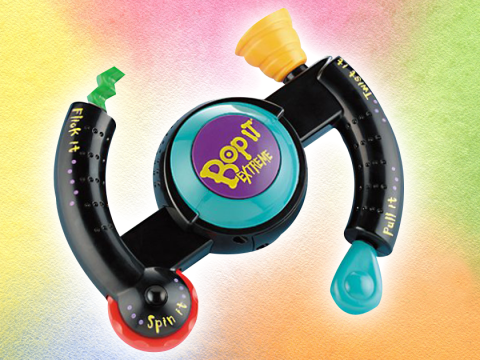 Someone's made a Bop It! themed sex toy