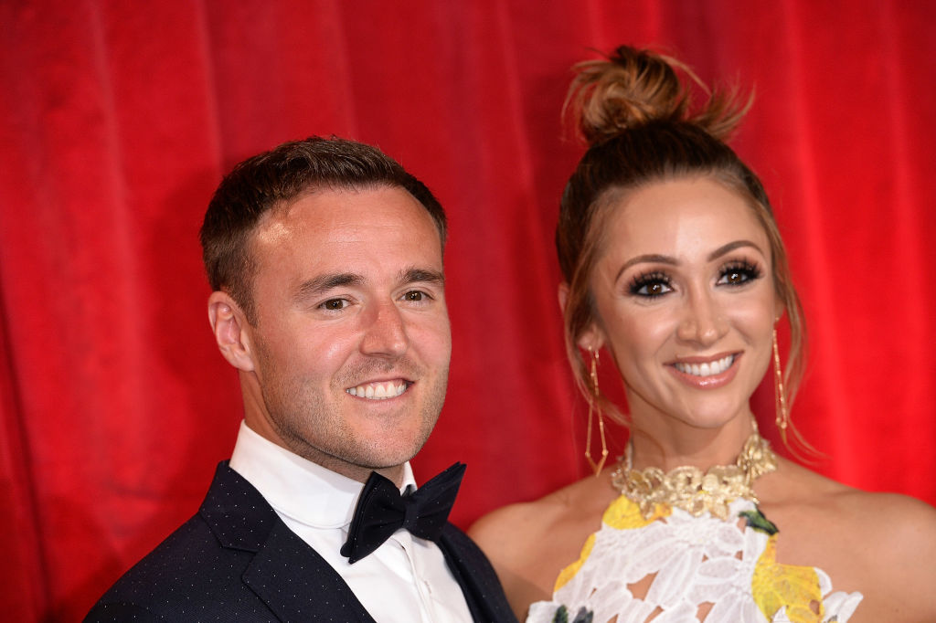 Corrie's Alan Halsall 'splits' with wife of nine years Lucy-Jo Hudson as he 'jokes about mid-life crisis'