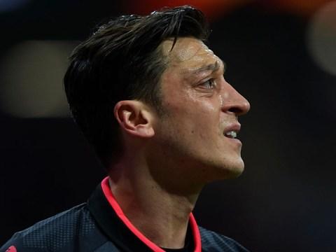 Mesut Ozil missing from Arsenal training ahead of Burnley clash