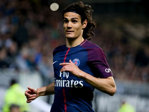Edinson Cavani responds to Chelsea transfer speculation