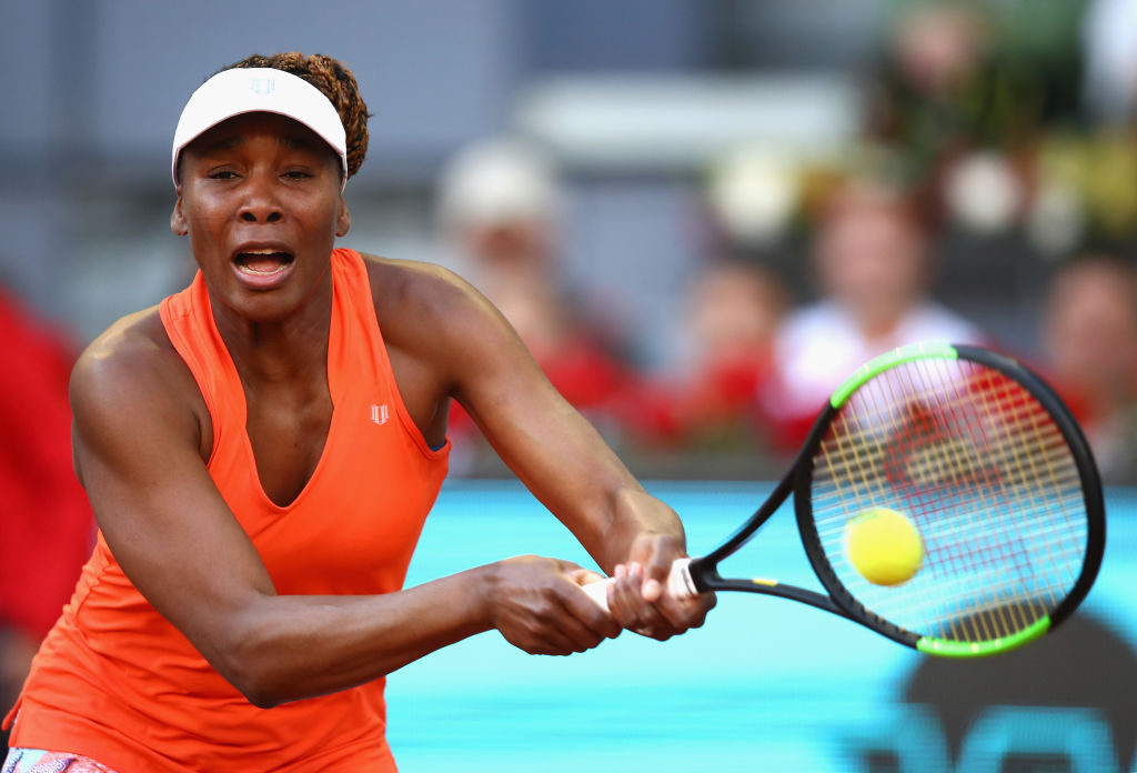 Venus Williams OUT of the Madrid Open as Anett Kontaveit fights back
