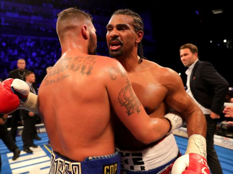 Tony Bellew urged David Haye to retire moments after knocking him out