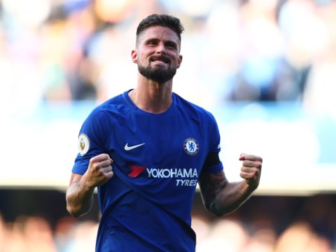Olivier Giroud explains why he celebrated with David Luiz after scoring against Liverpool