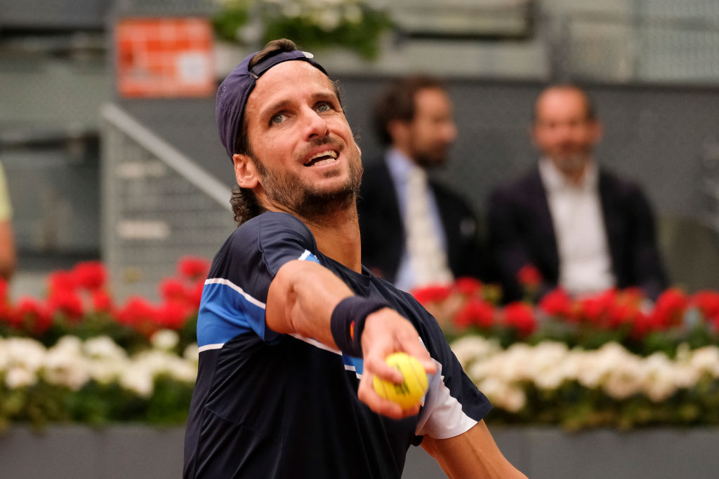 Feliciano Lopez speaks out on breaking record set by Roger Federer in Madrid