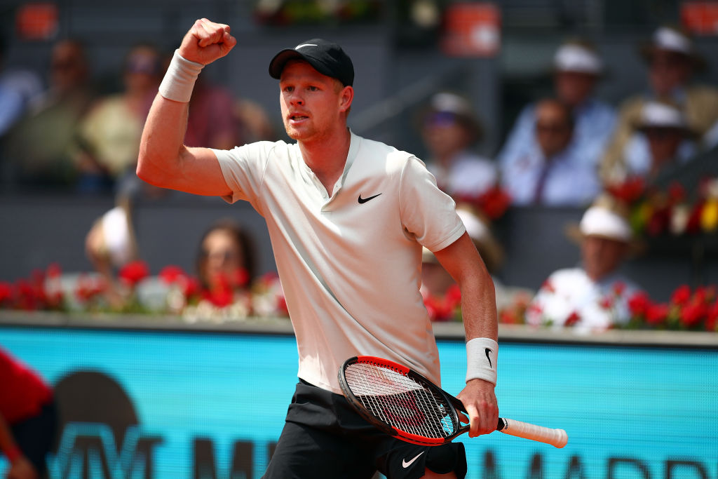 David Goffin and Novak Djokovic hail Kyle Edmund amid fine Madrid Open form