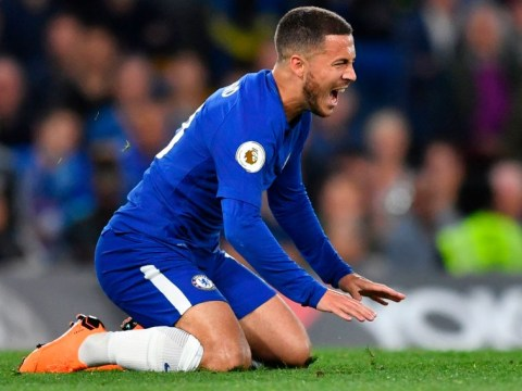 Antonio Conte defends his decision to leave out Eden Hazard against Huddersfield