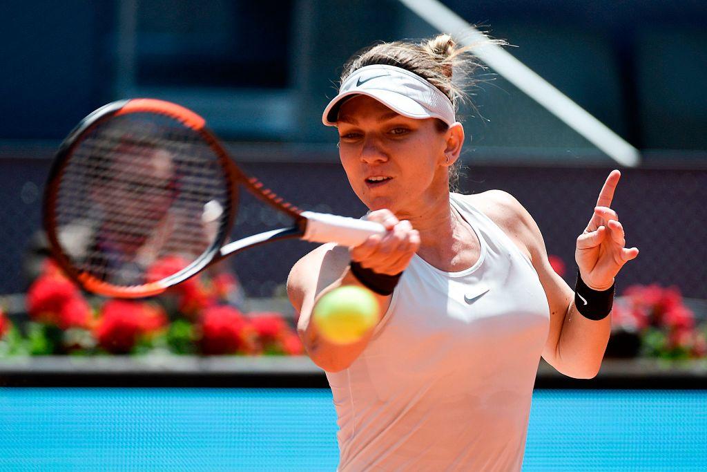 Defending champion Simona Halep OUT as Karolina Pliskova snaps Madrid win streak