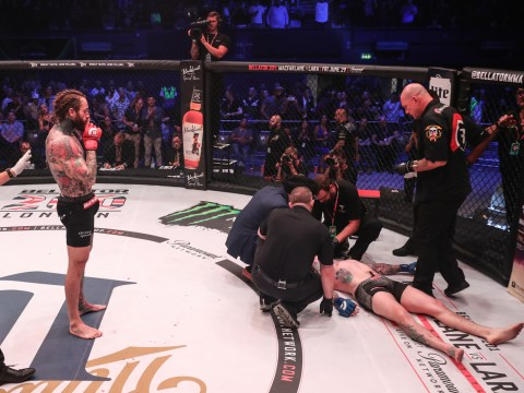 Aaron Chalmers tells haters to 'f*** off' after stunning Bellator debut