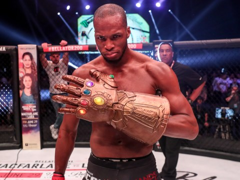 Bellator star Michael 'Venom' Page told David Rickels 'you f***** up' just before opponent quit