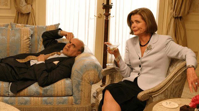 George Sr and Lucille in Arrested Development