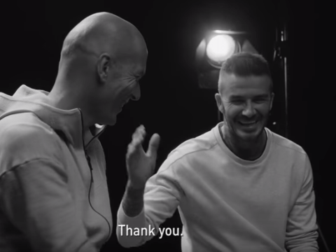 David Beckham begs Real Madrid manager Zinedine Zidane to beat Liverpool in Champions League final