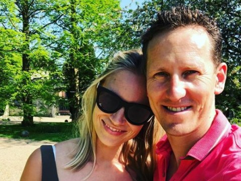 Brendan Cole puts paid to marriage woe rumours in loved up snap with wife Zoe
