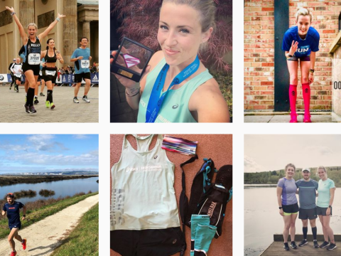Does sharing your running achievements online make you run better?