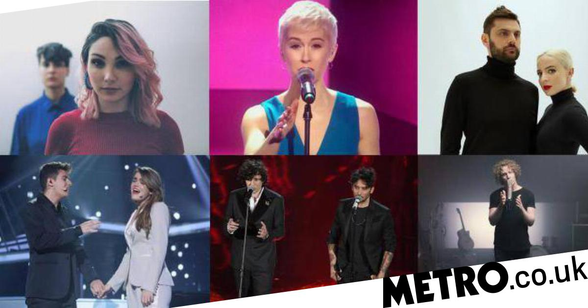 Watch the Eurovision 2018 Big Five and Portugal performances