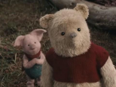 New Christopher Robin trailer is so precious we're blubbing already