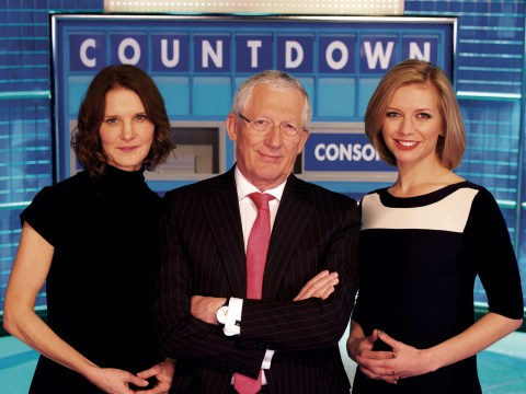 When did Countdown start and how many hosts have there been?