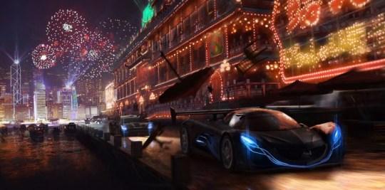 Forza Horizon 4 concept art suggests Hong Kong setting