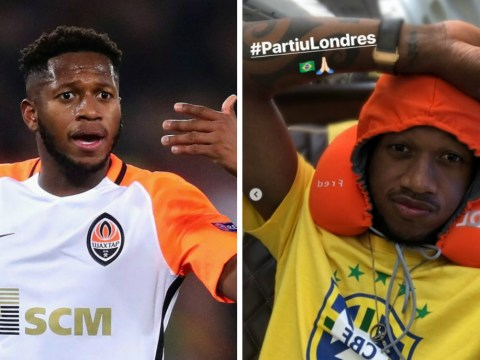 Manchester United target Fred touches down in England ahead of £53m transfer