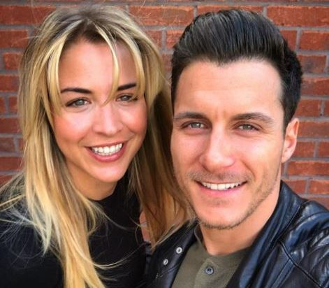 Gorka Marquez and Gemma Atkinson prove they are couple goals with sexy bedroom selfie