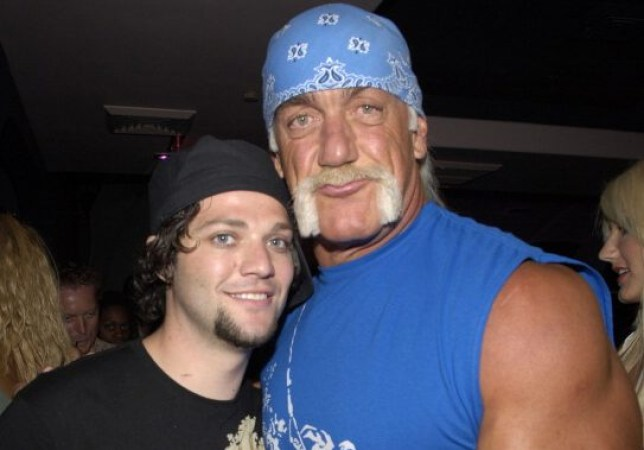 Bam Margera and Hulk Hogan