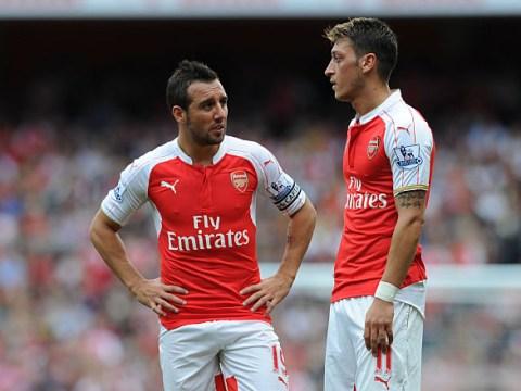 Mesut Ozil 'sad to see' Santi Cazorla leave Arsenal