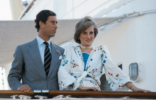 06fc27536e45f Charles and Diana on the Royal Yacht Britannia at the start of their  honeymoon to the Greek islands (Picture: Anwar Hussein/Getty Images)