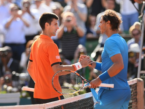 Who will Novak Djokovic and Rafael Nadal have to beat to win the French Open?