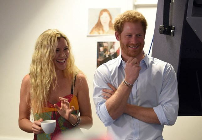 Joss Stone and Prince Harry