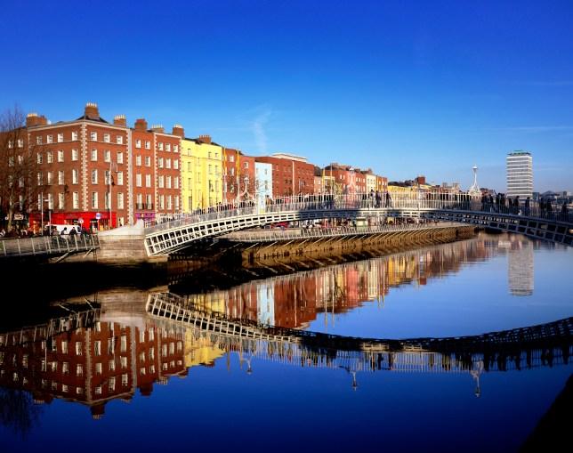 553d0174b9194 Admire Dublin's bridges, then dive into its restaurant scene (Picture:  Getty)