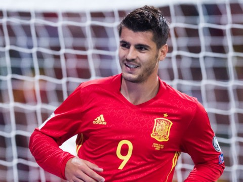 Alvaro Morata wishes Spain good luck at the World Cup after being left out of squad