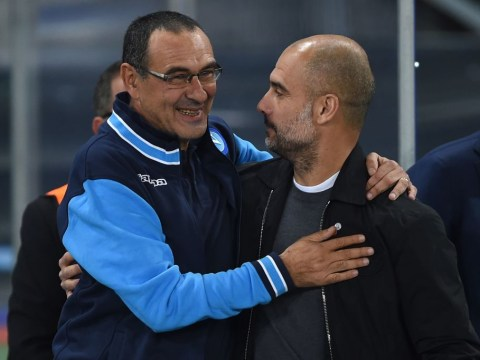 Pep Guardiola hails Maurizio Sarri as former Napoli manager closes in on Chelsea appointment