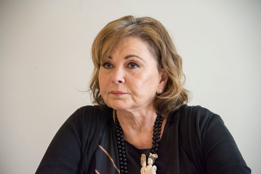 Roseanne Barr sobs through interview as she apologises for 'racist' tweet