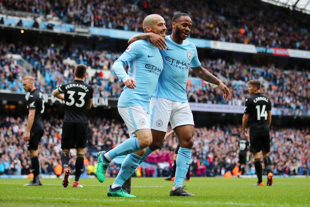 David Silva set to return for Manchester City as Raheem Sterling could avoid rotation