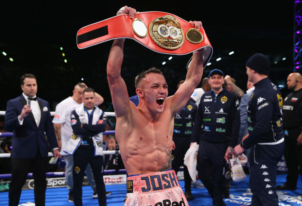 Josh Warrington weighing up Carl Frampton bout after stunning win over Lee Selby