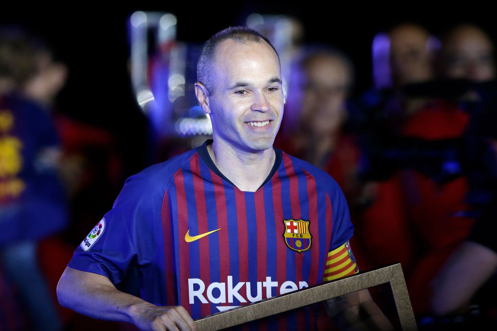 Andres Iniesta confirms next move after Barcelona exit